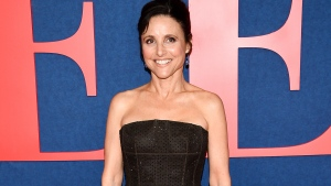 "Actress and executive producer Julia Louis-Dreyfus attends the premiere of the final season of HBO's ""Veep"" at Alice Tully Hall on Tuesday, March 26, 2019, in New York. (Photo by Evan Agostini/Invision/AP)"