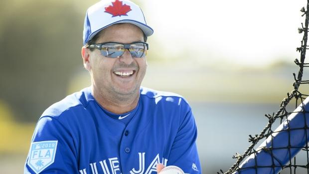 Toronto Blue Jays manager Charlie Montoyo