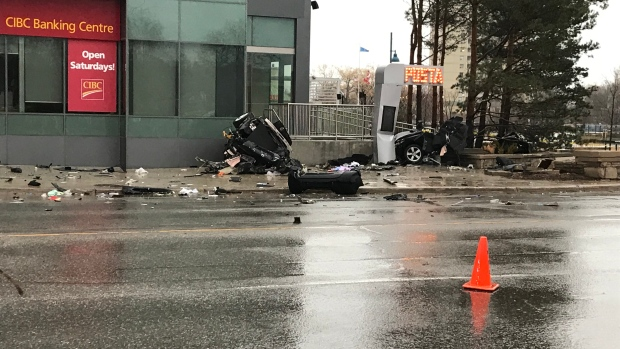 Car torn to bits from the impact:' Police investigating fatal crash