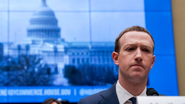 Facebook says some of Mark Zuckerberg's older posts were inadvertently deleted