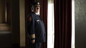 Brian Starkell, Chief of the Nipawin Fire department in Nipawin, Saskatchewan poses for a photo in Niagara Falls, Ont. on Sunday March 31, 2019. THE CANADIAN PRESS/Tara Walton