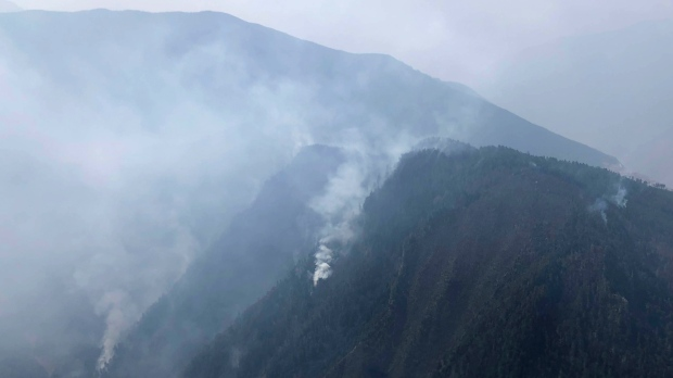 30 confirmed dead in southwest China forest fire