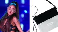 """Ariana Grande wants her fans to bring """"100 per cent clear"""" bags to her show in Toronto as part of heightened security measures specific to the tour. (Photo on left by Chris Pizzello/Invision/AP, File)"""