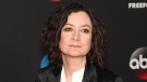 This May 15, 2018 file photo shows Sara Gilbert at the Disney/ABC/Freeform 2018 Upfront Party in New York. (Photo by Andy Kropa/Invision/AP, File)