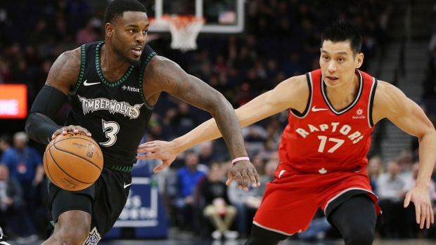 Toronto Raptors' Jeremy Lin