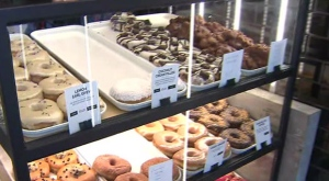 Donut Monster is one of the businesses leasing space at stackt, located near the city's Fort York neighbourhood.