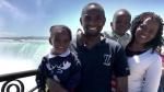 (From left to right) Kelly Njuguna, Paul Njuguna, Ryan Njuguna, and Carolyne Karanja are seen in this submitted photo.
