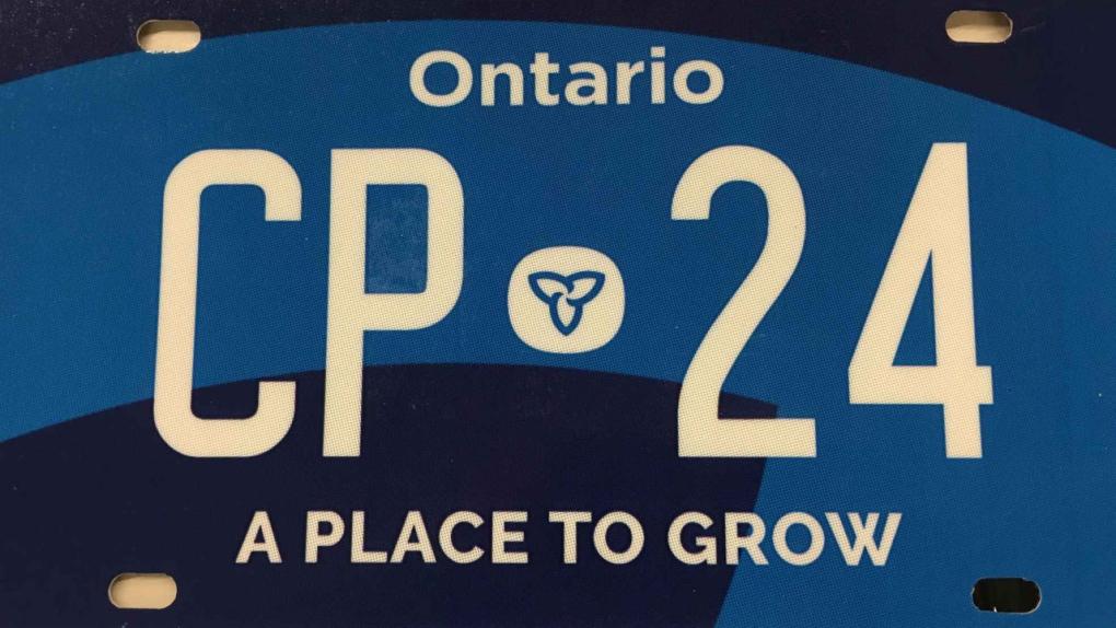Ontario Unveils New Licence Plate Cp24 Com