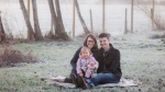 Aaron and Patricia Pearson are pictured with their two-year-old biological daughter Emma are shown in a photo taken in December 2018 by Coastal Lifestyles Photography. The couple was in the process of adopting a sibling for Emma through Choices Adoption and Pregnancy Counselling Agency in Victoria, B.C., but the agency has announced it will shut down as of May 31, 2019. THE CANADIAN PRESS/HO- Coastal Lifestyles Photography- Shea Michelle Long