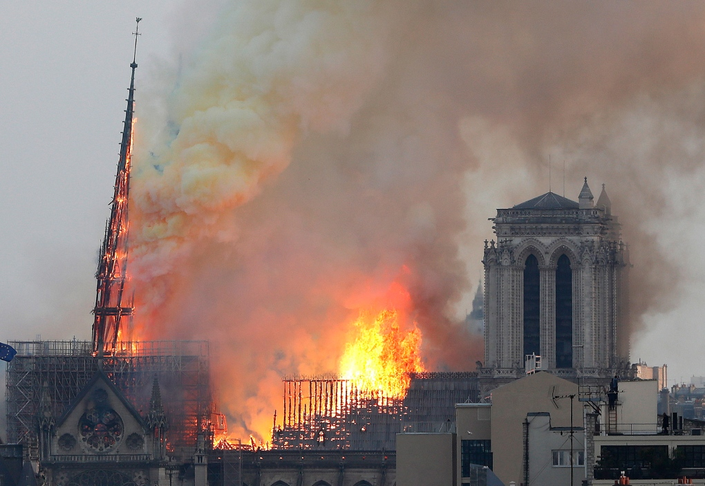 Flames rip through Notre Dame cathedral | CP24 com