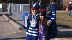 Leafs, fans
