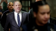 In this photo from Thursday, Dec. 20 2018, Harvey Weinstein arrives at New York Supreme Court for a hearing on his sexual assault case. (AP Photo/Seth Wenig, File)