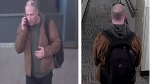 A suspect wanted for several thefts and break and enters in Yorkville is shown. (TPS)