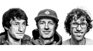 Outdoor apparel company The North Face confirmed Thursday that American Jess Roskelley and Austrians David Lama and Hansjorg Auer disappeared while attempting to climb the east face of Howse Peak on the Icefields Parkway. They were reported overdue on Wednesday. David Lama, left to right, Jess Roskelley and Hansjorg Auer are seen in a composite image of three undated handout images. The North Face said the three professional climbers are members of its Global Athlete Team. THE CANADIAN PRESS/HO-The North Face,