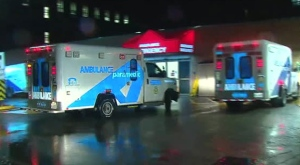 One male has been taken to hospital with serious injuries after a shooting in North York.