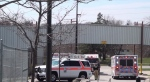 Police are investigating after a man was found without vital signs in a pool at an Oshawa recreational centre.