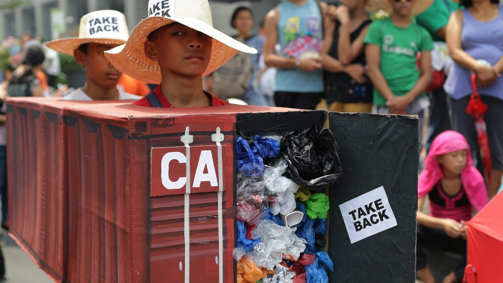 Philippines rejects Canada's garbage retrieval proposal