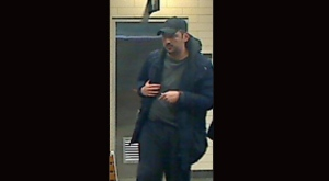 Police have released an image of a suspect who allegedly sexually assaulted a woman at Union Station. (Toronto Police Service handout)