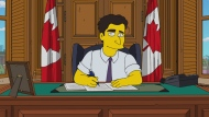 "Prime Minister Justin Trudeau will be portrayed in Sunday's Canadian-themed episode of ""The Simpsons,"" which is titled ""D'Oh Canada."" Toronto journalist Lucas Meyer tweeted on Monday that he got to guest-voice Trudeau for the segment after putting together an impressions video on YouTube. THE CANADIAN PRESS/HO-City TV"
