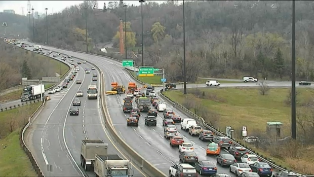 Dvp Closure Gallery: Northbound DVP Reopens Following Police Investigation