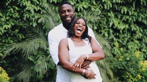 Toronto FC Jozy Altidore and tennis star Sloane Stephens are seen in this photograph posted to social media. (Twitter/@SloaneStephens)