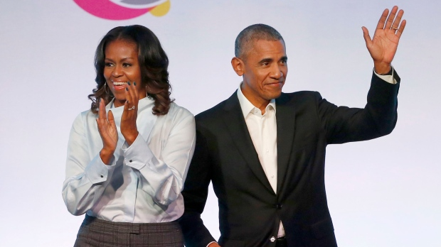 Barack and Michelle Obama announce seven Netflix shows they are producing