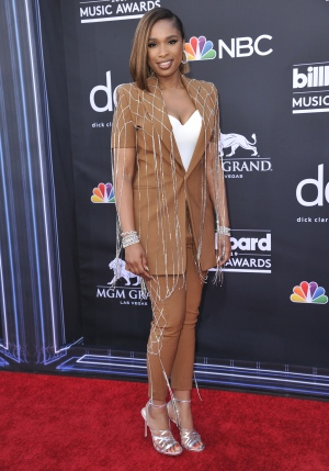 Jennifer Hudson arrives at the Billboard Music Awards on Wednesday, May 1, 2019, at the MGM Grand Garden Arena in Las Vegas. (Photo by Richard Shotwell/Invision/AP)