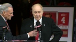 Red Kelly is seen in a handout image provided by the Detroit Red Wings.
