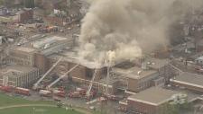 York Memorial CI fire