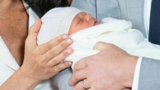 Prince Harry and Meghan baby