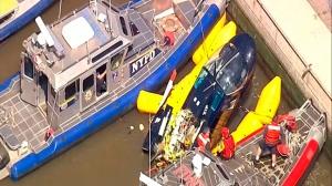 Helicopter crash Hudson