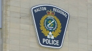 A Halton Regional Police logo seen in this undated photo.