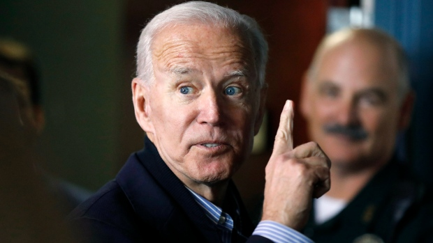 At campaign rally, Biden decries Democratic 'anger' and pledges unity