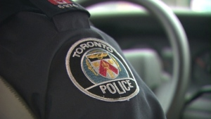 A Toronto police uniformed officer is shown in a handout image.