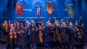 The Broadway cast of Harry Potter and the Cursed Child is shown in a handout photo. THE CANADIAN PRESS/HO-Mirvish Productions-Matthew Murphy MANDATORY CREDIT