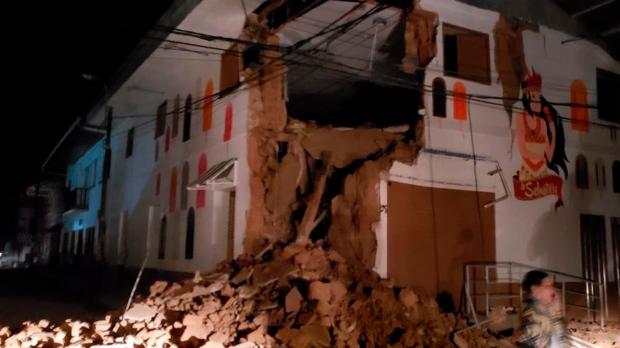 Peru, earthquake