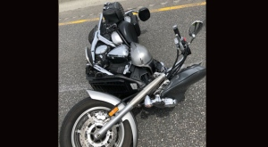 A motorcyclist has been airlifted to hospital following a collision on Highway 400. (Twitter/ OPP Sgt. Kerry Schmidt)