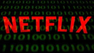 This illustration picture shows the U.S. online streaming giant Netflix logo. (AFP)