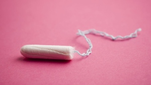 A tampon is seen in an undated file photo. (istock.com/gbrundin)