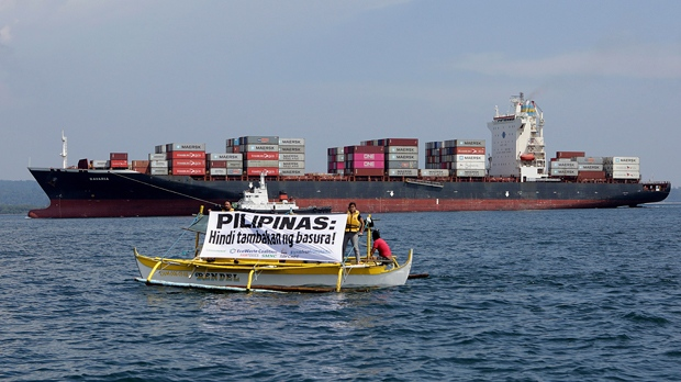 Philippines sends trash back to Canada after Duterte escalates row