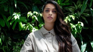 """Lilly Singh is photographed in Toronto on Monday, June 3, 2019, as she promotes """"A Little Late with Lilly Singh"""" her upcoming late-night talk show that will be broadcast by NBC and Global. THE CANADIAN PRESS/Chris Young"""