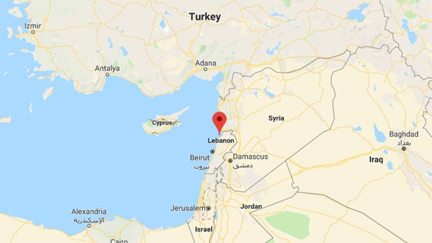 er blows himself up after killing 3 troops in Lebanon ... on qatar map, united arab map, eastern mediterranean map, france map, egypt map, jordan map, israel map, dominican republic map, persian gulf map, asia map, italy map, jerusalem map, mediterranean sea map, cyprus on map, mideast map, holy land map, iraq map, turkey map, syria map, saudi arabia map,