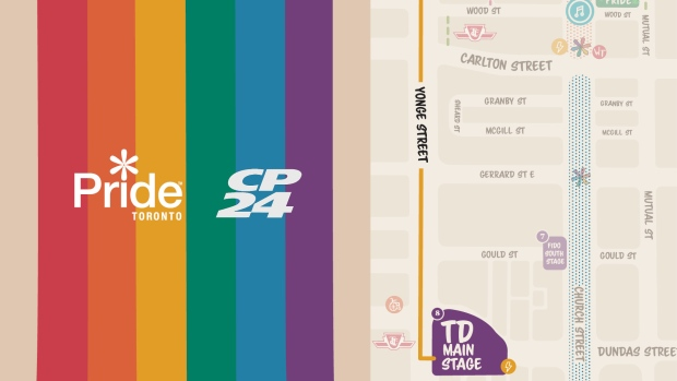 pride 2019 parade map