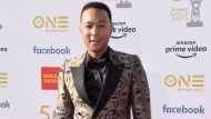 John Legend arrives at the 50th annual NAACP Image Awards on Saturday, March 30, 2019, at the Dolby Theatre in Los Angeles. (Photo by Richard Shotwell/Invision/AP)
