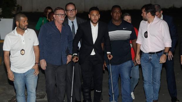Neymar questioning