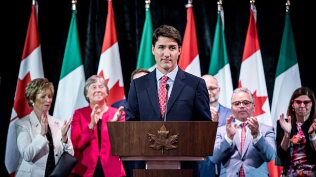 Trudeau Italian Canadians
