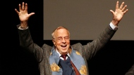 Franco Zeffirelli is shown in this Friday Oct. 16, 2009 file photo, in Rome. Italian director Franco Zeffirelli, famed for operas, films and television, has died in Rome at the age of 96. Zefffirelli's son Luciano said his father died at home at noon on Saturday. (AP Photo/Alessandra Tarantino, File)