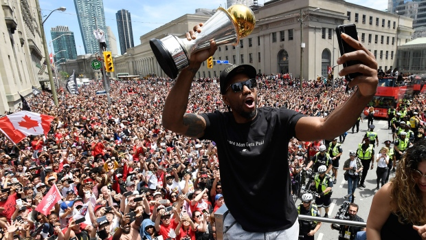 See the Raptors' wonderful  tribute video for Kawhi Leonard