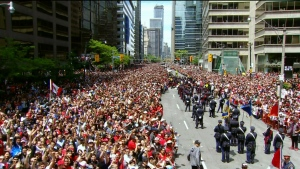 Officials deny baby who suffered fatal medical episode at Raptors Parade received delayed treatment