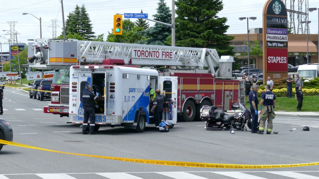 One person dead after Etobicoke collision